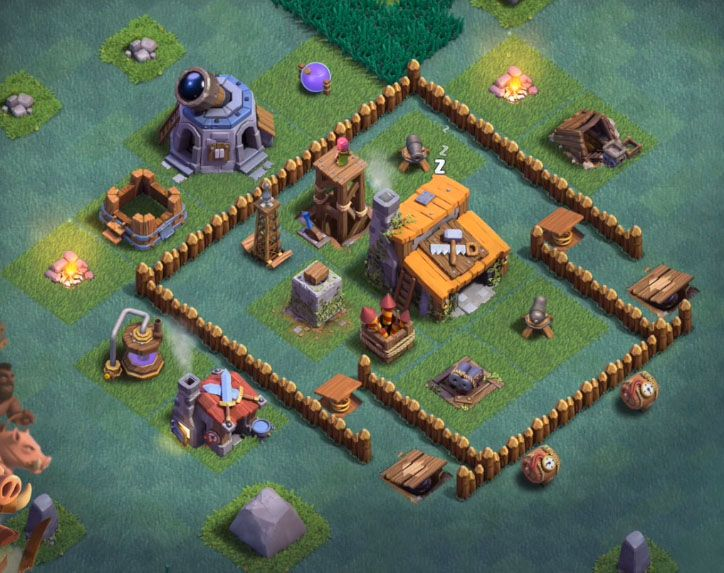 Best builder hall base clash of clan layout design