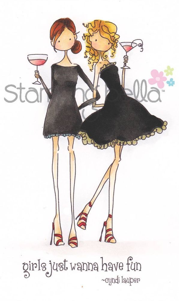 Stamping Bella Cling Stamps-victoria /& Juliette