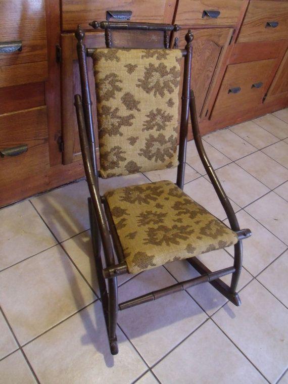 Vintage Kids Rocking Chair 717