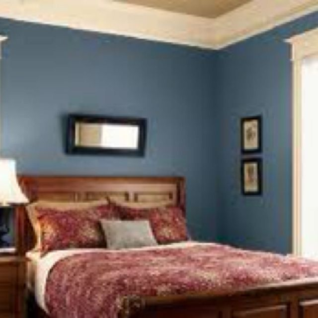 Picture That Inspired Our Bedroom Eddie Bauer Mercer Blue