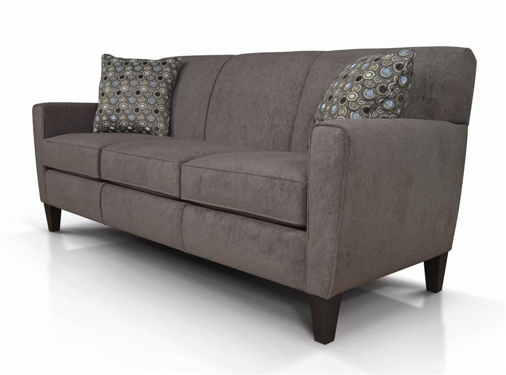 Best Collegedale Contemporary Upholstered Sofa By England 400 x 300