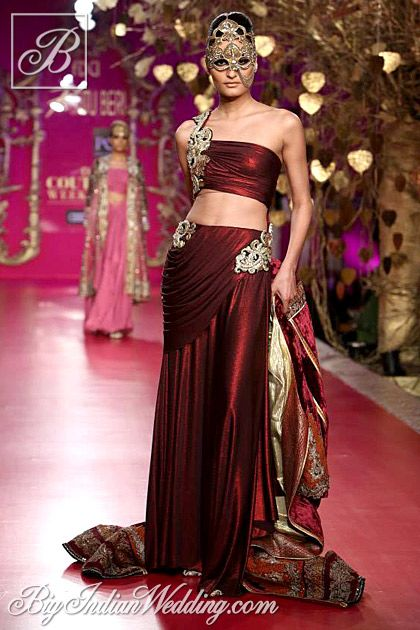 Ritu Beri Designer Evening Wear Collection Delhi Couture Week Delhi Couture Week 2013 Asian Bridal Wear