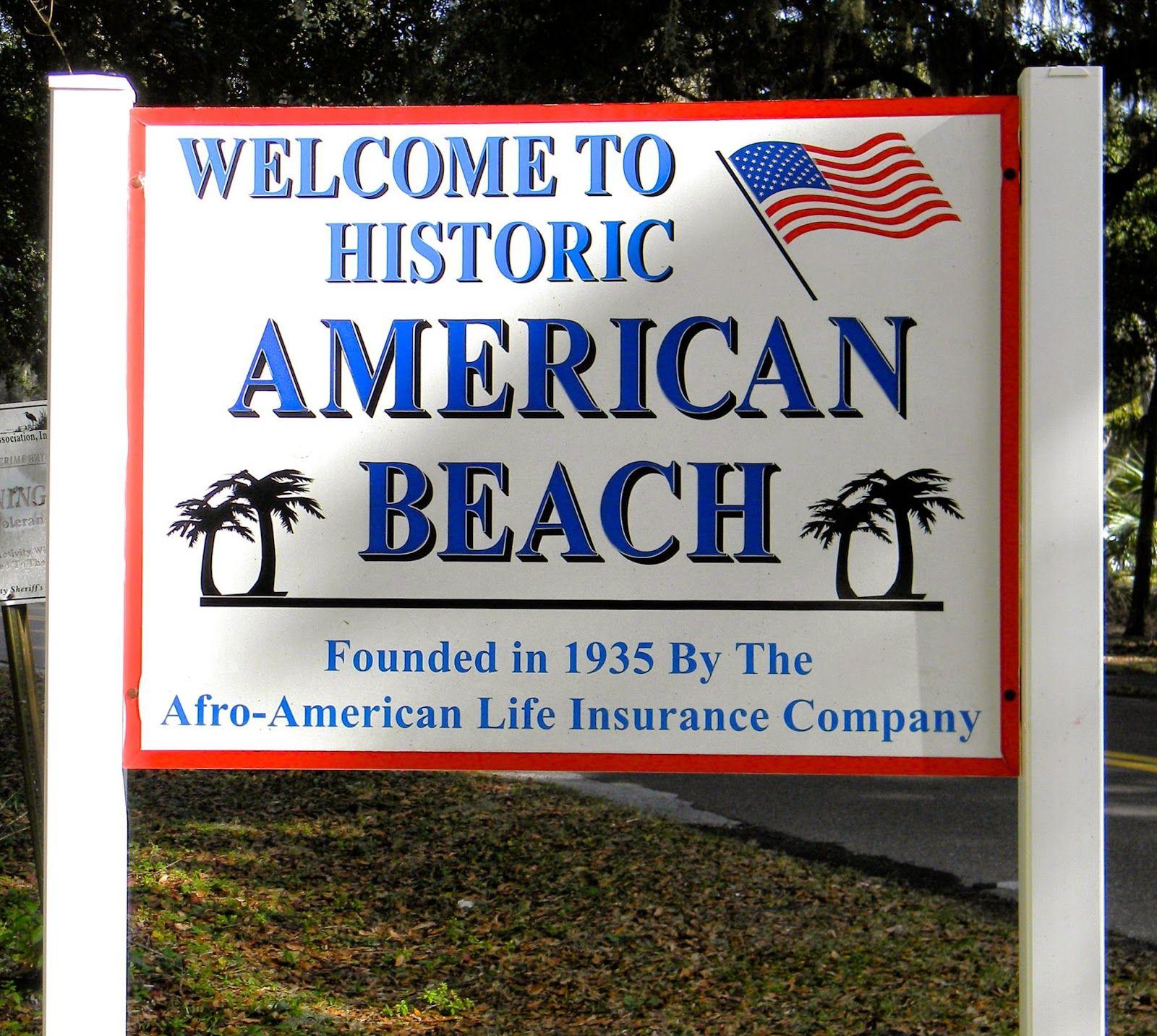 American Beach, Amelia Island, Florida American beaches