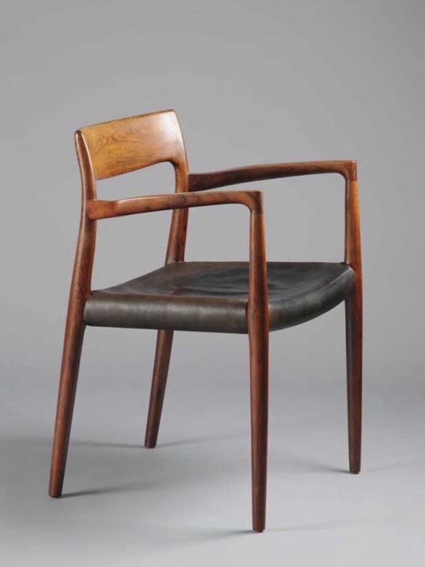 Charming 1958 Carver Chair By Niels Moller