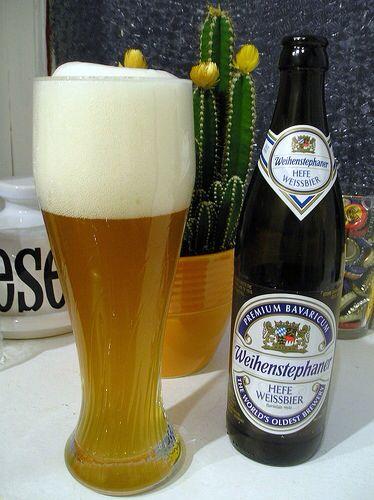 Weihenstephaner, a fine example of the Bavarian Hefeweizen