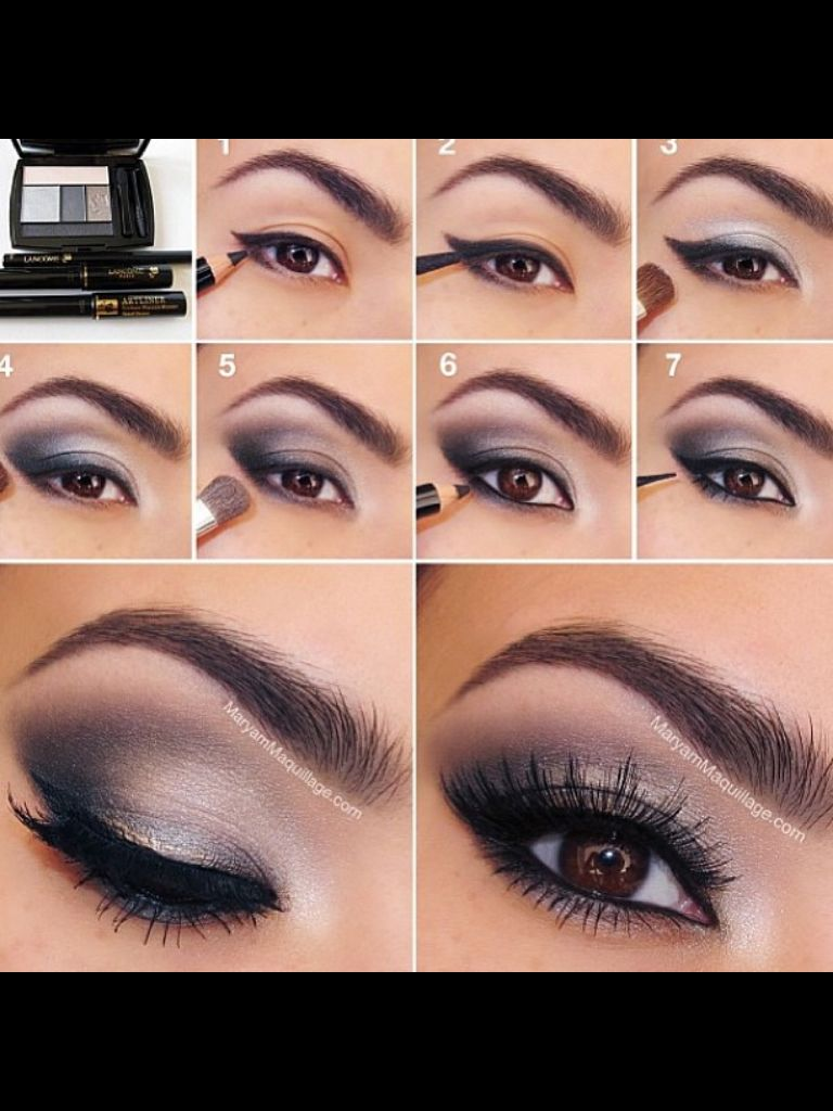 brown eye makeup tutorials, eyeshadow hacks, beauty tips