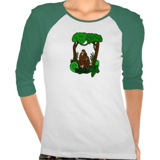 Jungle Chimpanezes Tee Shirt
