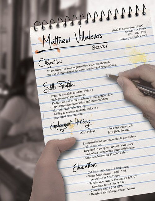 creative #resumes that stand out from the crowd Creative CVs - creative resumes