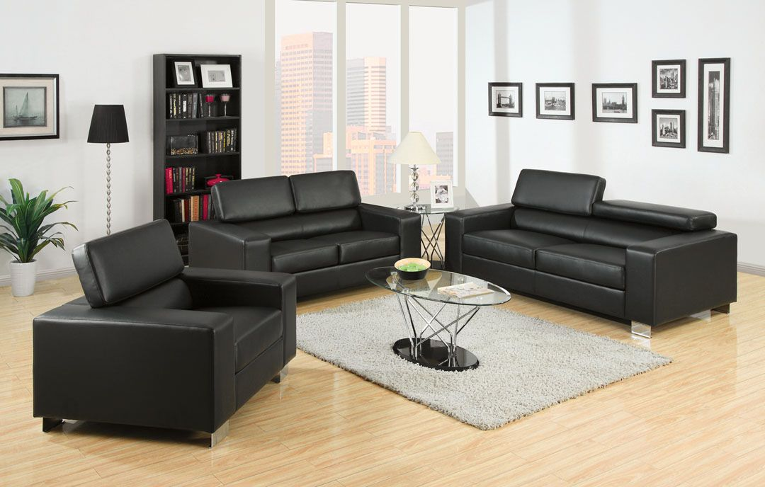 Ambfurniture & Design  Living Room Furniture  Sofas And Stunning Black Leather Living Room Furniture Inspiration