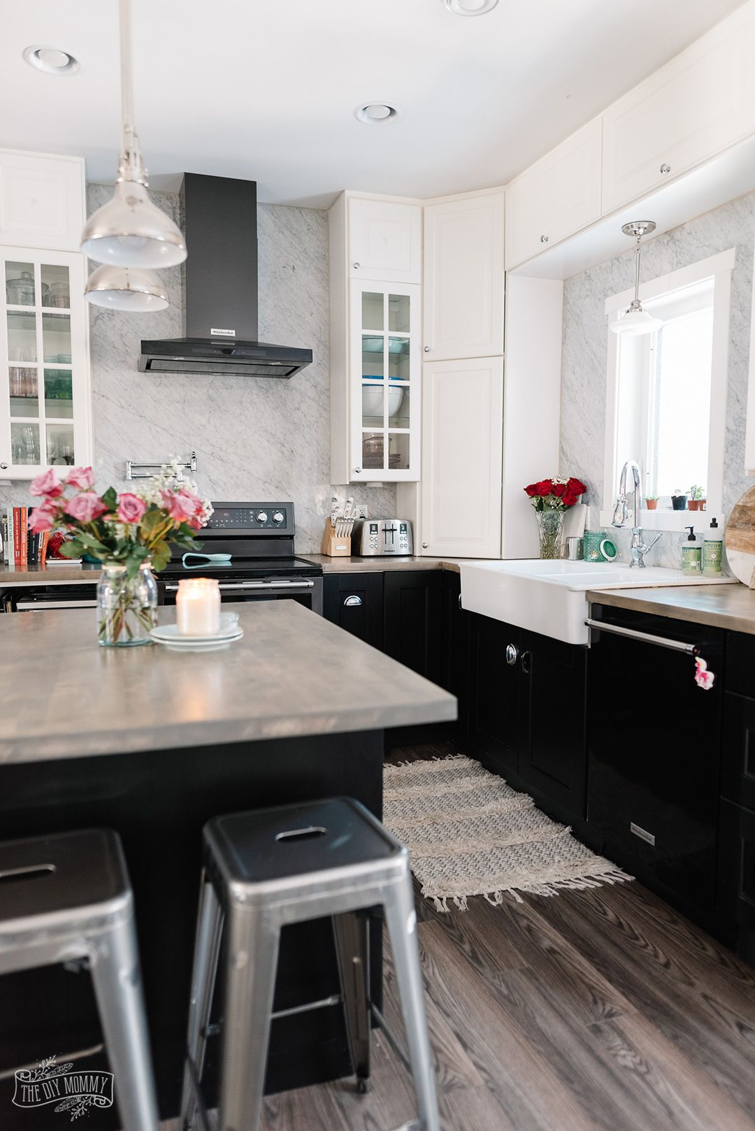 Ikea Kitchen Review 7 Years Later The Diy Mommy Ikea Kitchen Reviews Kitchen Design Small Ikea Kitchen