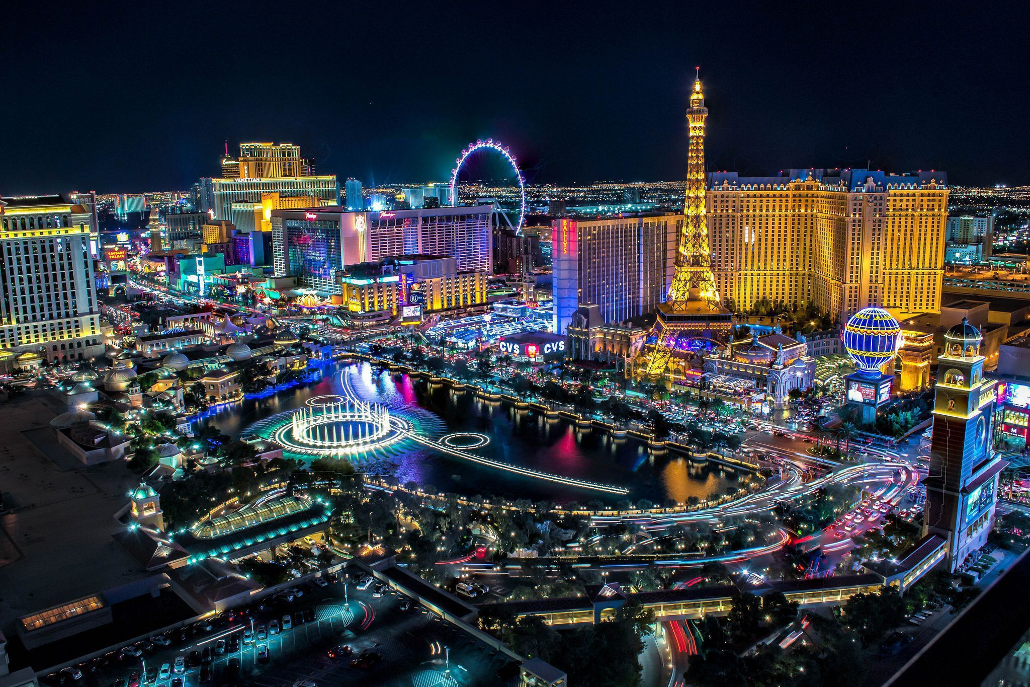Las Vegas Wallpaper Phone Desktop Wallpaper Box Las Vegas Resorts City Lights At Night Las Vegas
