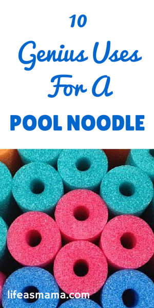 10 Genius Uses For Pool Noodles