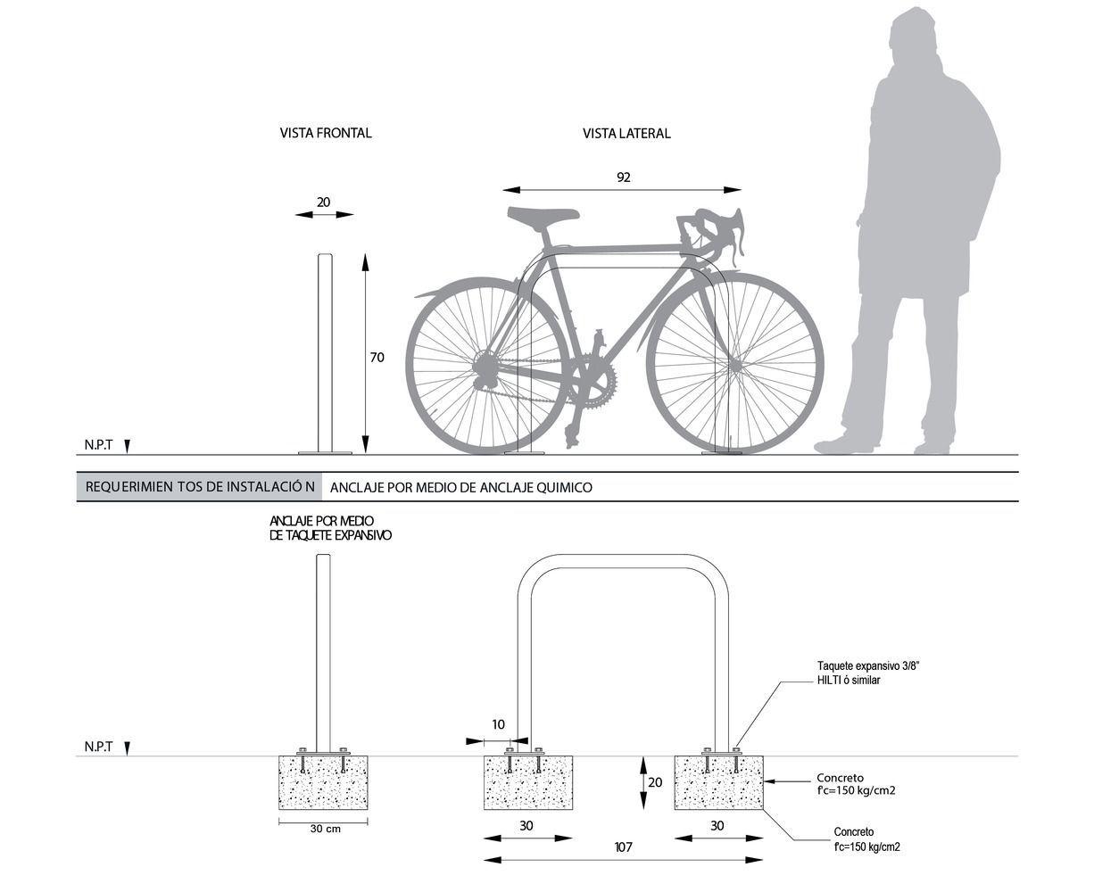 Gallery Of Bike Parking Design Guidelines 24 Parking Design