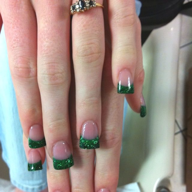 Nails For St Green French Tips