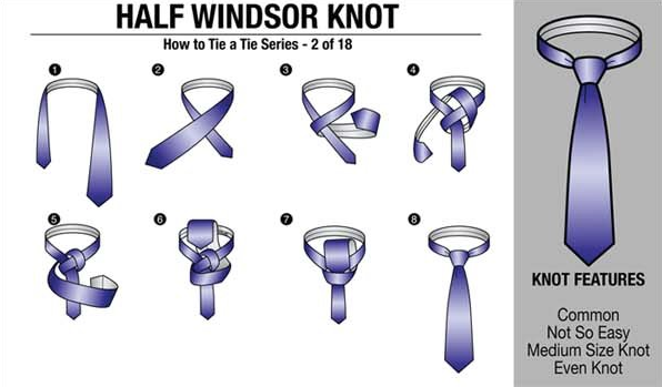 18 clear succinct ways to wear a tie boss man half windsor and 18 clear succinct ways to wear a tie architecture design ccuart Image collections