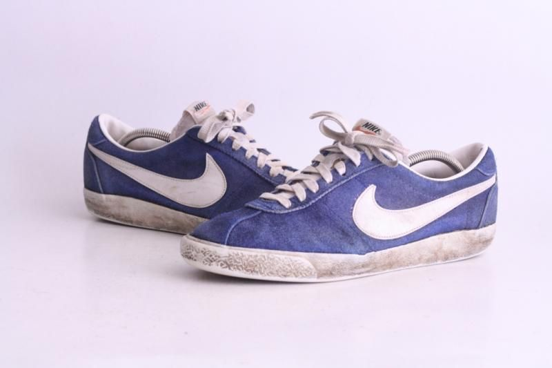 99dd2665820e Vintage Nike Bruin Suede 11 Rare OG 70s 80s Bball Original Made in Taiwan