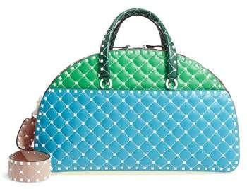 aa734389f2ba VALENTINO GARAVANI Rockstud Leather Bowling Bag