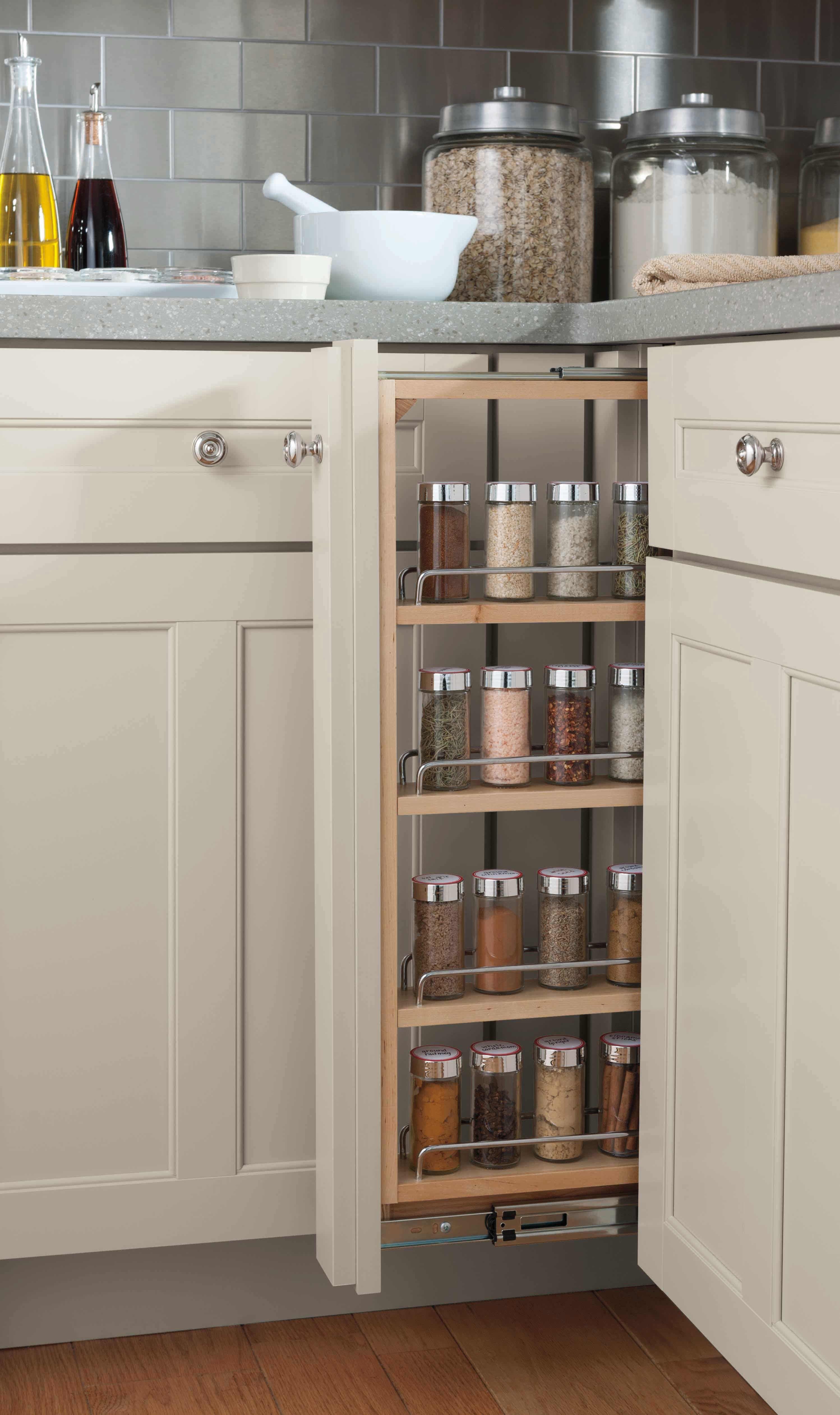 Add a dash of organization to your kitchen with this creative pull ...