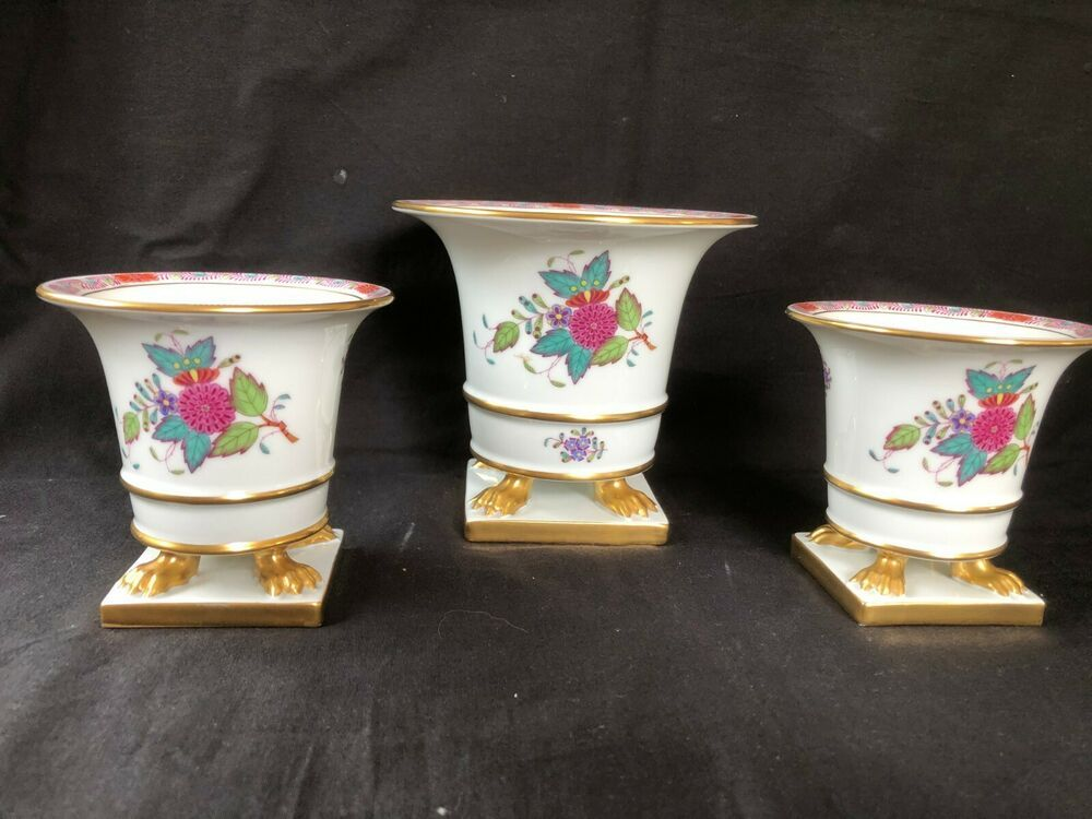 Antique Herend Porcelain Onyi
