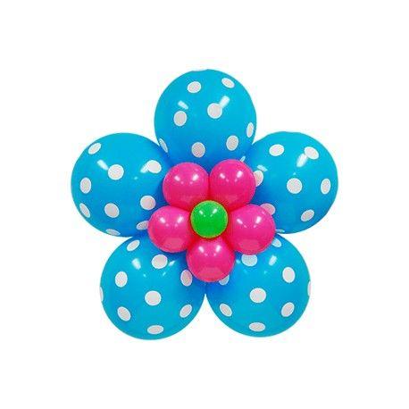flores-dobles-con-globos-de-pepas.jpg (458×458)