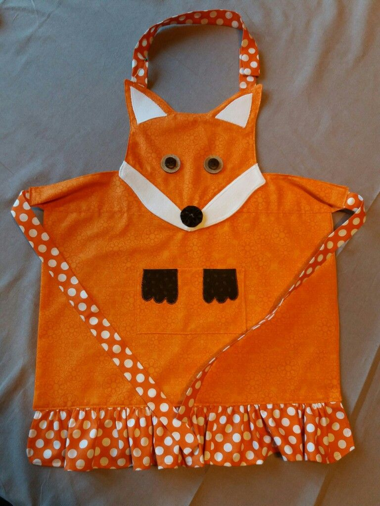 Fox apron (taken in part from   Simple as that)