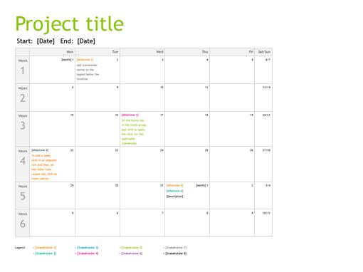 Project Planning Timeline  Templates    Timeline