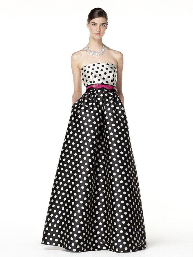 d69f8171d611 15 vestidos largos con falda de volumen para ir de boda | vestidos ...