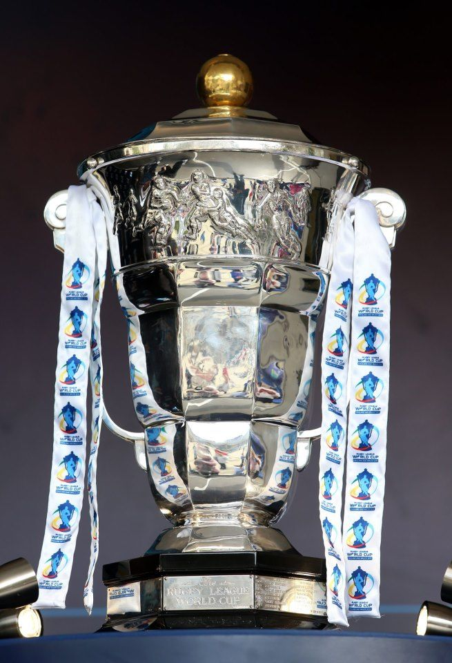 Trophy 2 Rugby League World Cup Rugby League Rugby Gear