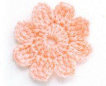 Patrón 1888 Como Tejer Flor Fácil De Hace A Crochet Croché Patrón De Ganchillo Flores Faciles De Hacer