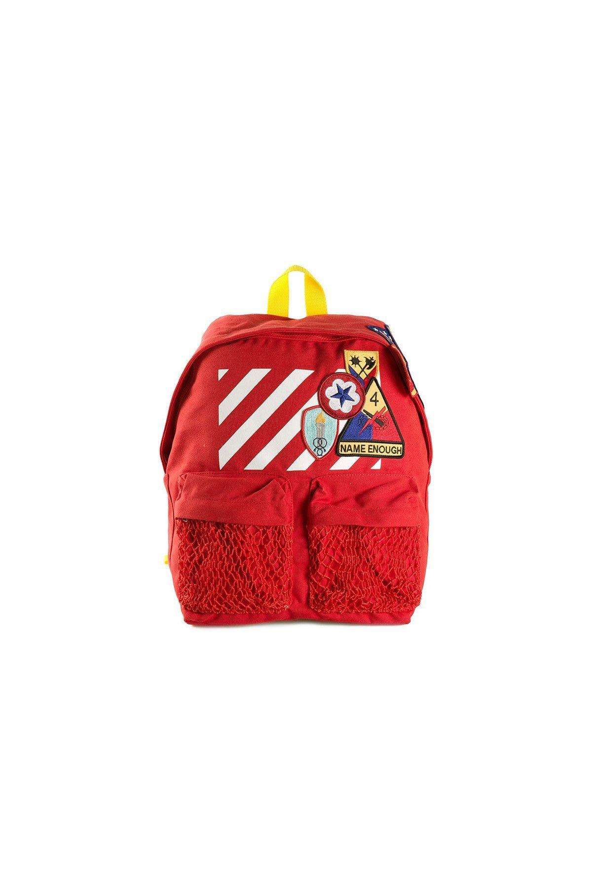 {Off-White / 04 bag / 04 backpack} Canvas Backpack