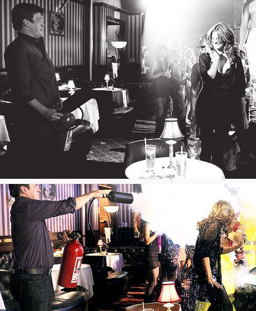 """""""He's super funny, loves to make other people laugh. We have a great time working together."""" - Stana Katic"""