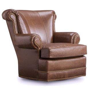 Shop for Houston Olive Brown Leather Swivel Chair. Get free shipping at Overstock.com - Your Online Furniture Outlet Store! Get 5% in rewards with Club O!