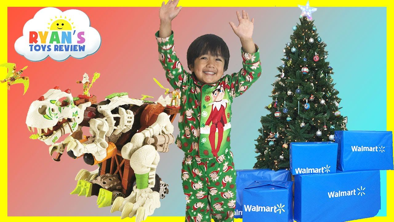 cool SURPRISE TOYS OPENING CHRISTMAS PRESENTS WALMART Top Toys ...