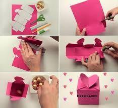 El Yapımı Hediye Kutusu Yapımı Kutular Valentine Gifts