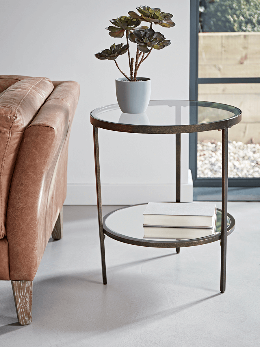 Melissa Glass Side Table | Coffee table