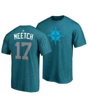 brand new 00445 b6dbe Majestic Men's Mitch Haniger Seattle Mariners Player's ...