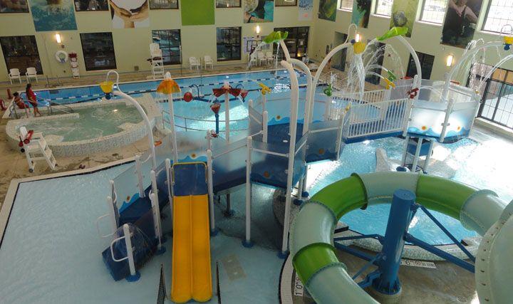 Augusta Kroc Center Vortex Poolplay Elevations Www Vortex Intl Com Basketball Court Pool Vortex
