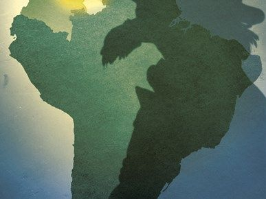 Newsart for Latin America Without Chávez