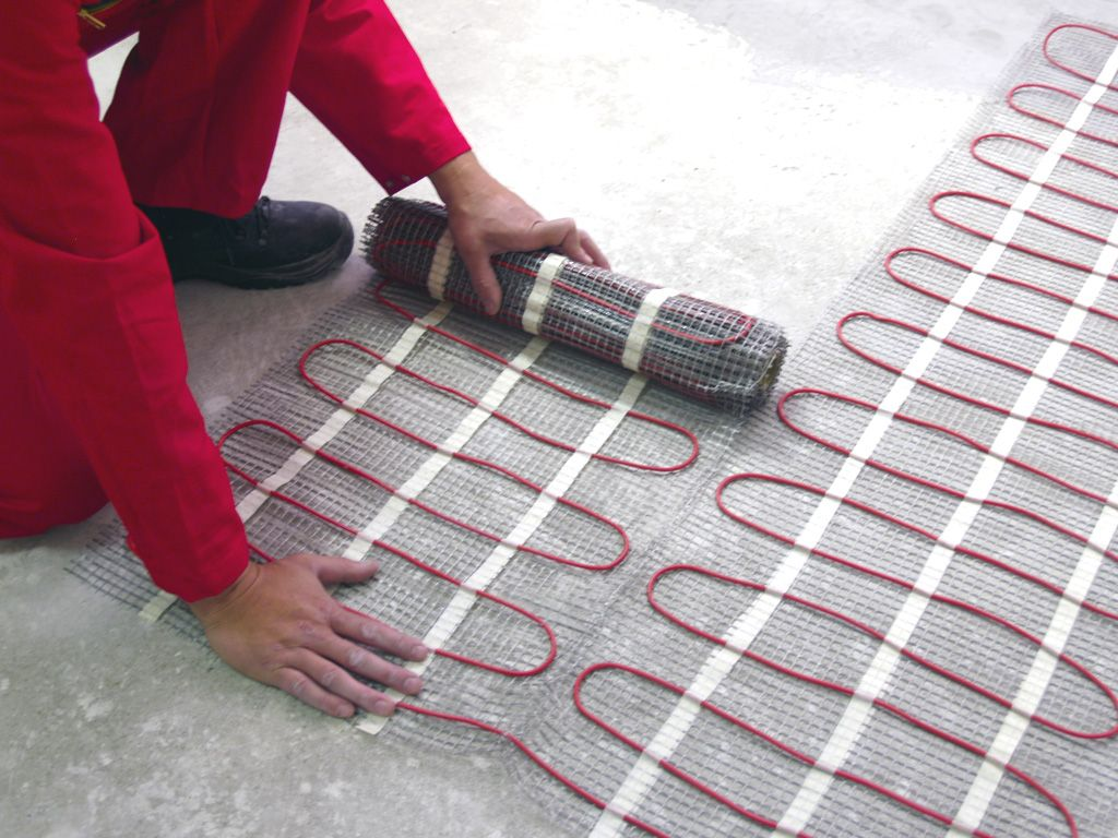 electric under floor heat | Verwarming – Under Floor Heating » Electric underfloor heating V ...