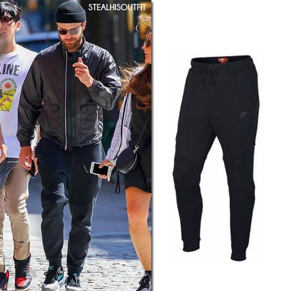 2fcd88fb098283 Justin Timberlake in black jacket and black joggers New York July 26 2017