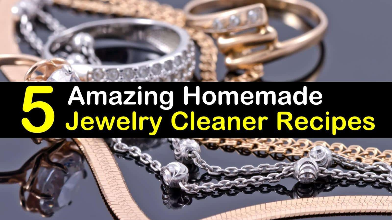 Cleaning jewelry homemade jewelry cleaner titlimg find