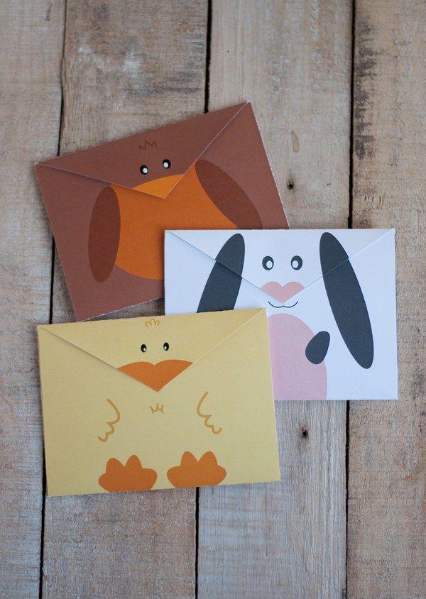 Printable Spring Envelopes • this heart of mine