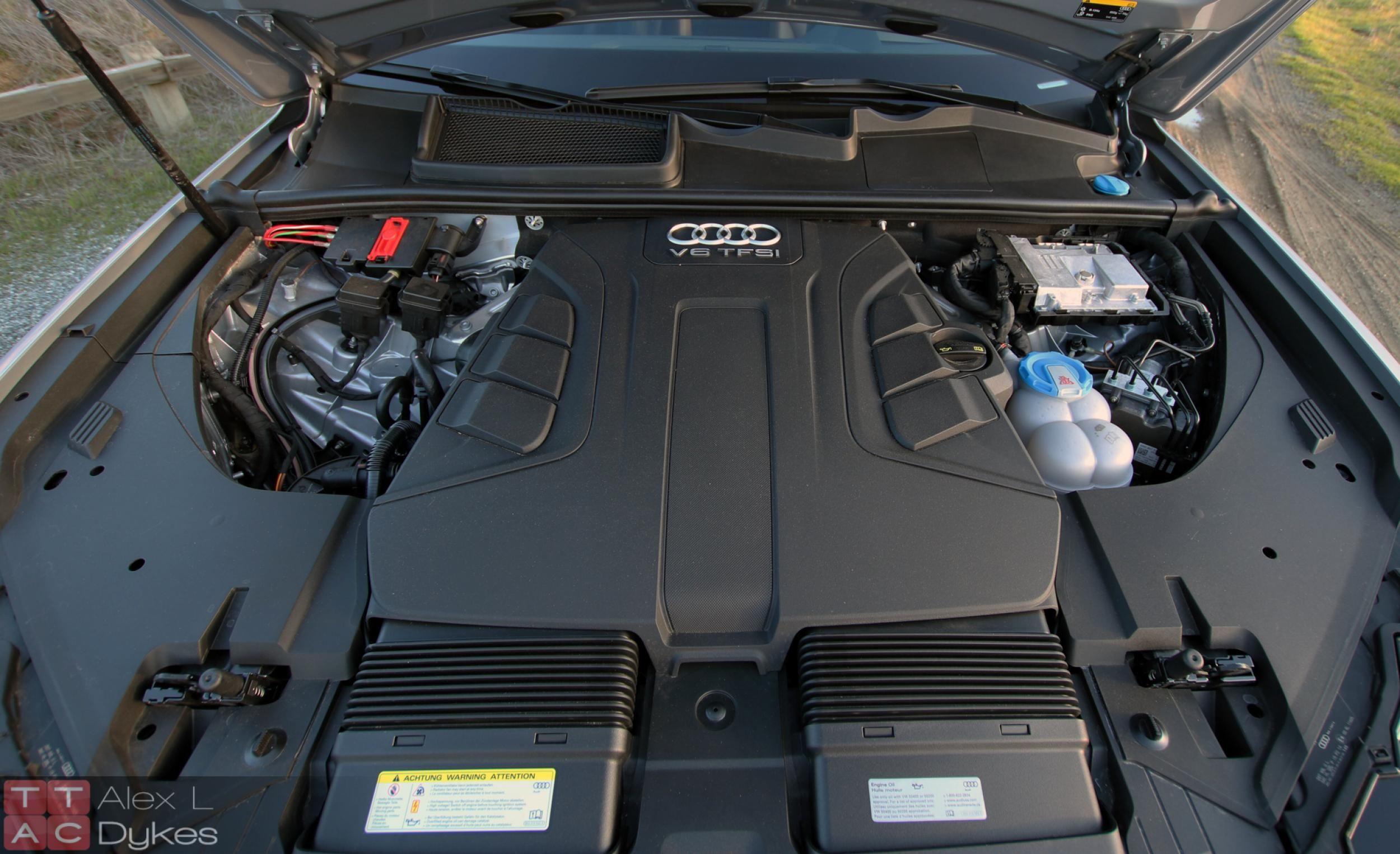 2017 Audi Q7 Engine
