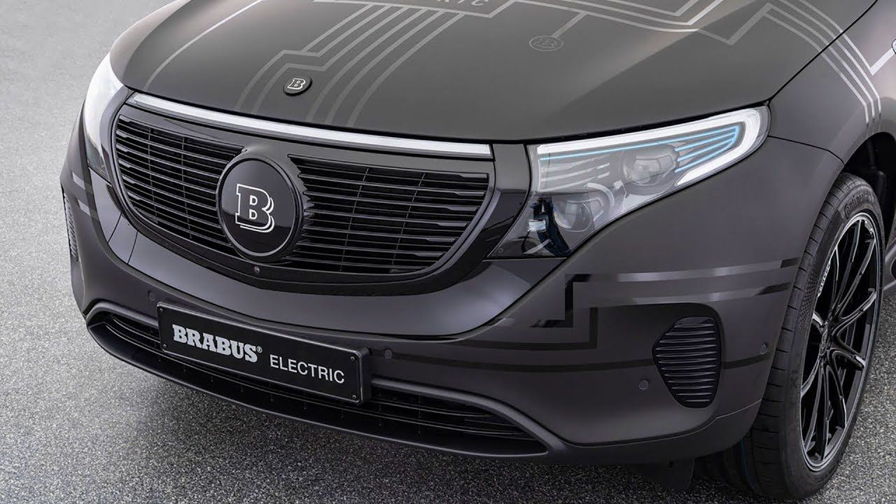 2020 Brabus Electric Concept For Mercedes Benz Eqc 400 N293 Benz Mercedes Benz Mercedes