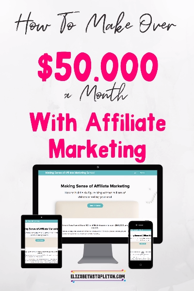 Are you a blogger but unsure of how to make money online? Or, maybe you've been blogging for awhile but haven't had much luck with affiliate marketing.Making Sense of Affiliate Marketing is a step-by-step guide to creating and making money from affiliate marketing. #affiliate #affiliatemarketing