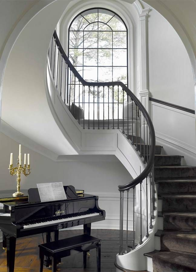 House Tour Connecticut Shore With Images Staircase Design