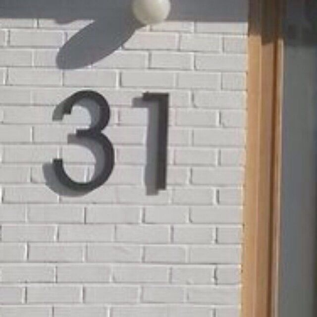 acrylic letters and numbers large black house number signs http