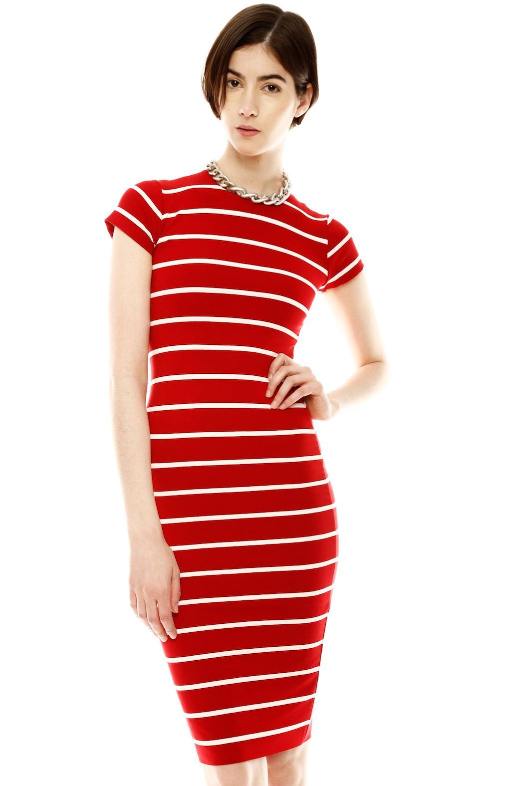 Stripe pencil dress womendressdresses women dress dresses in