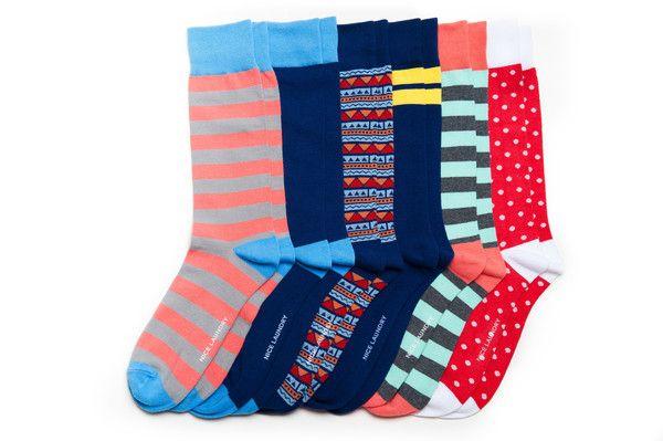 Nice Laundry Socks Visionary Socks Cool Socks Colorful Socks