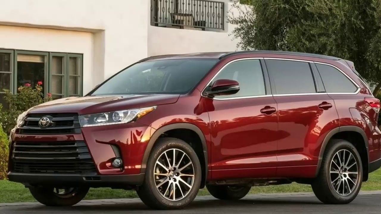 The 2019 Toyota Highlander Colors Price And Release Date